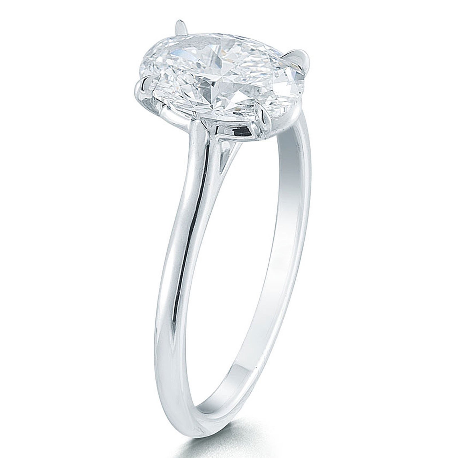 co engagement six platinum dsc products ring classic tiffany prong ct sz solitaire