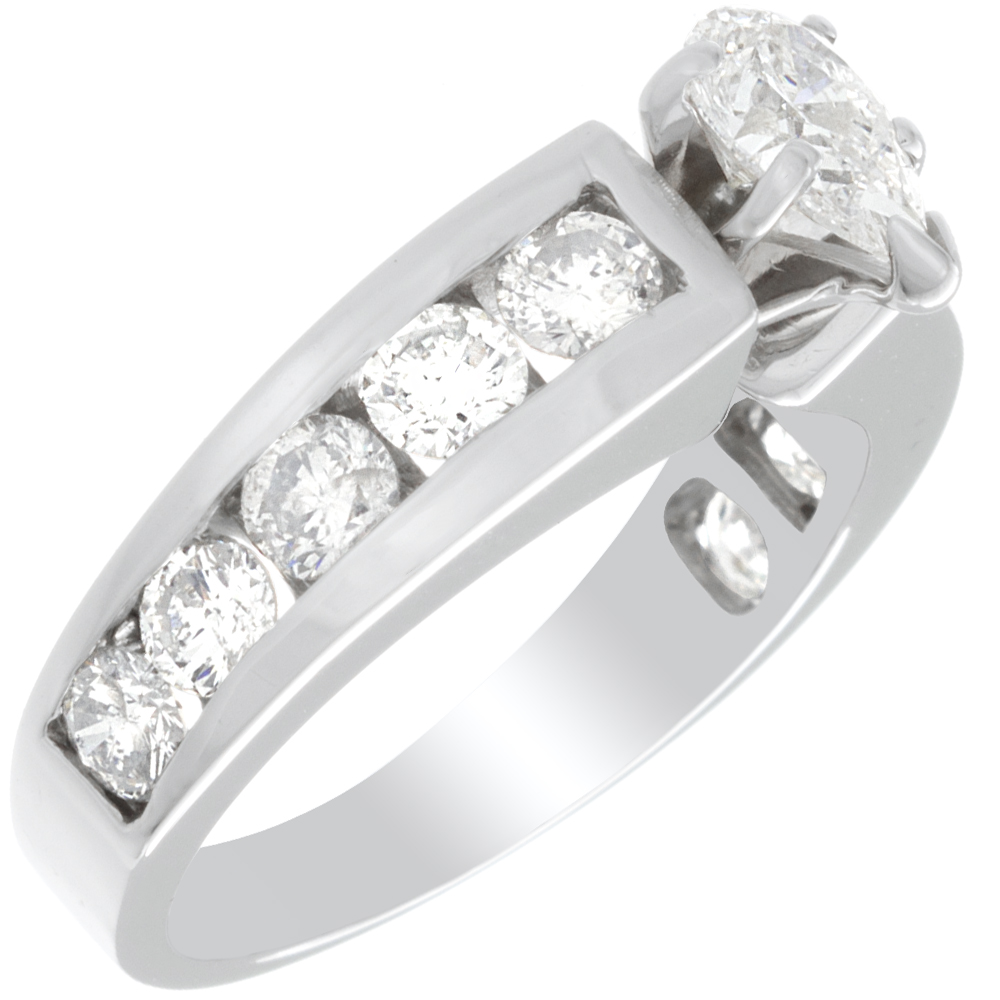 engagement diamonds diamond bride rings products melanie princess pear josh ring