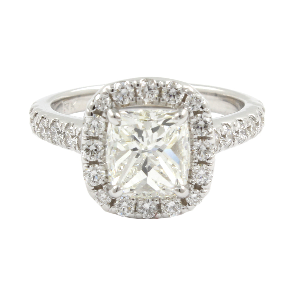a rings gold ring in flawless diamond yellow tw cut engagement products